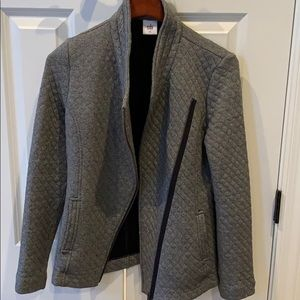 CAbi small quilted jacket like new so cozy
